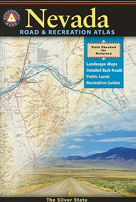 Benchmark Road & Recreation Atlas Nevada By National Geographic Maps